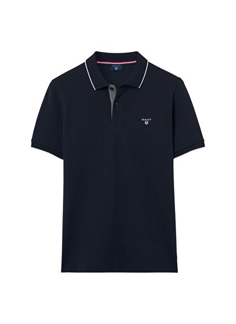Gant Polo Yaka Tişört Lacivert